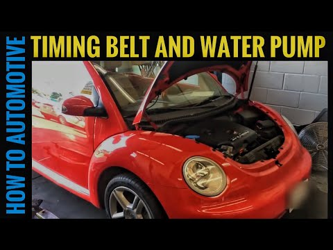 How to Replace the Water Pump and Timing Belt on a 2004 Volkswagen Beetle 1.8 Turbo