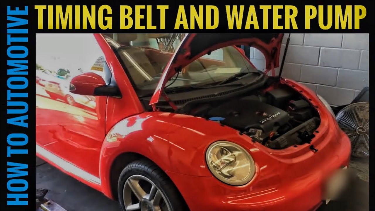 How To Replace The Water Pump And Timing Belt On A 2004 Volkswagen Vw New Beetle Engine Diagram Repair Guide With Schematic