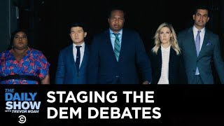 Staging the Democratic Primary Debate: The Thrilling Backstory | The Daily Show
