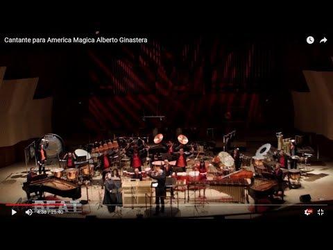 Alberto Ginastera - Cantata para America Magica