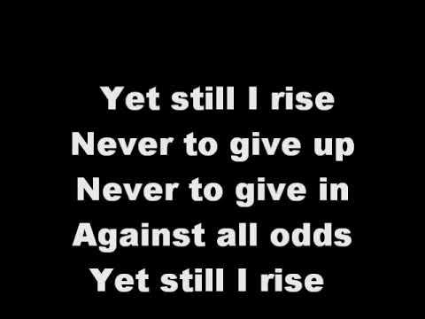 Yolanda AdamsStill I Rise Lyrics