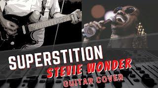 stevie wonder superstition guitar cover