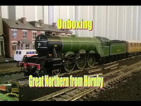 Unboxing the Gresley A1 Pacific from Hornby