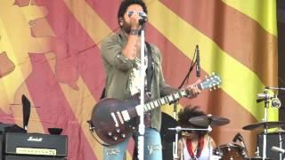 Lenny Kravitz - Dirty White Boots -  New Orleans Jazz Fest 5-3-2015
