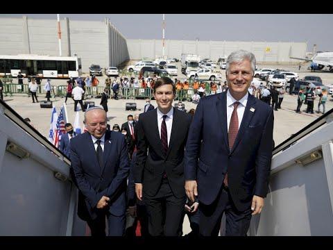Israeli US Delegations Depart To UAE In 1st Direct Flight 2020 08 31 En