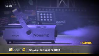 BeamZ S1500 Smoke Machine DMX with Timer control 160.492 BeamZ
