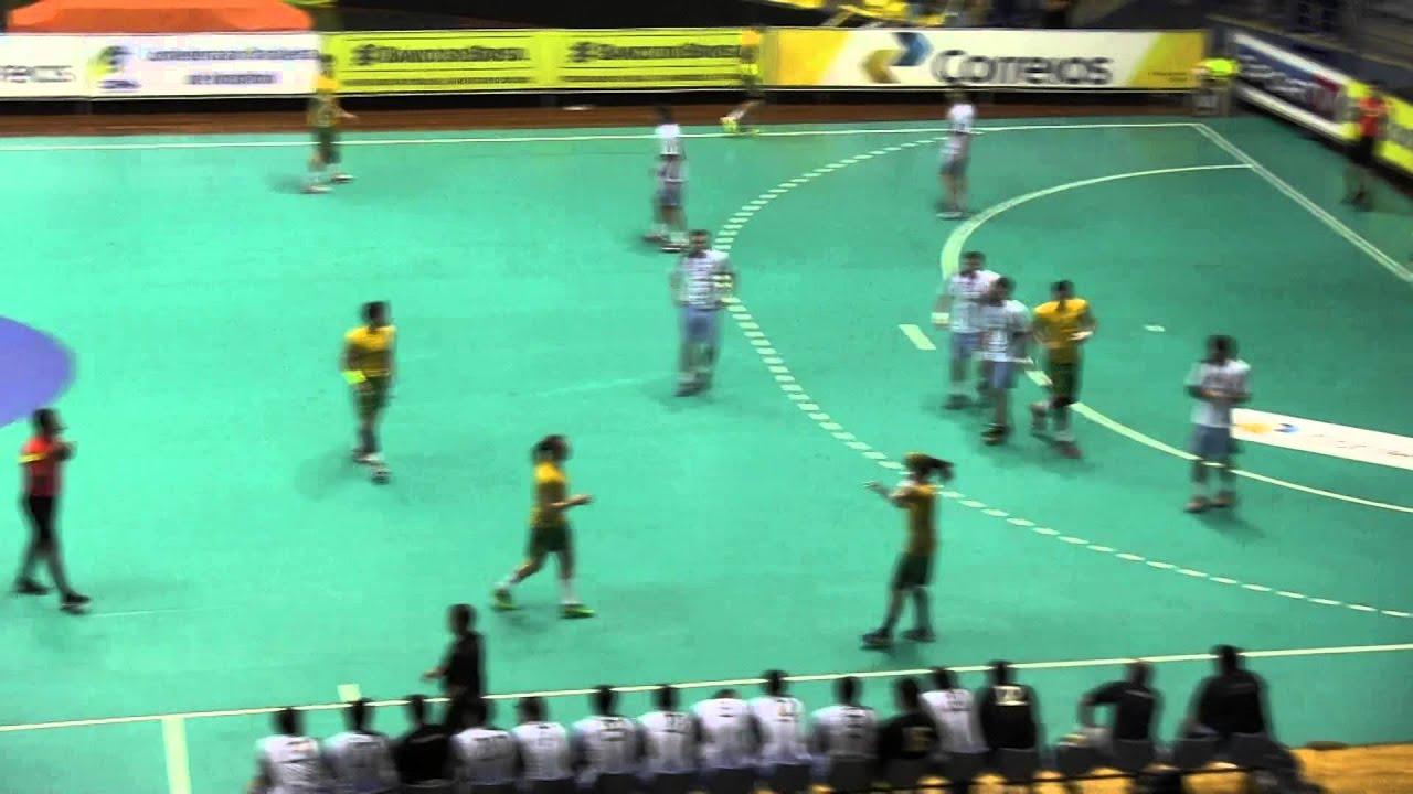 Argentina Vs Brasil: Handball ARGENTINA Vs BRASIL PT1