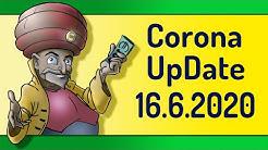 Corona-Update vom 16.6.2020