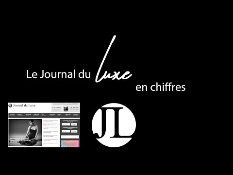 le journal du luxe en chiffres 1er blog luxe en france youtube. Black Bedroom Furniture Sets. Home Design Ideas