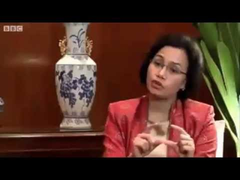 Sri Mulyani - Public private can bridge Asia poverty gap World Bank (BBC)