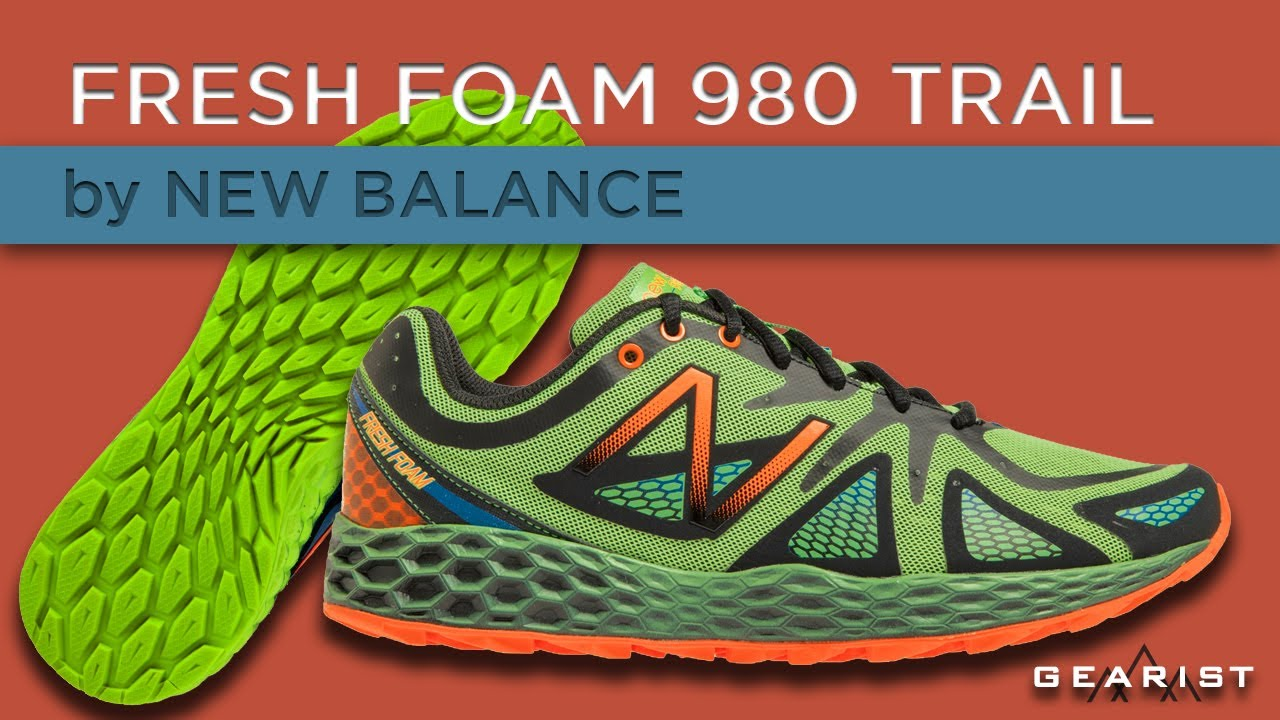45862f346738 NEW BALANCE FRESH FOAM 980 TRAIL REVIEW - Gearist.com - YouTube