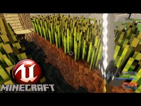 Minecraft in Unreal Engine 3 - Unreal Minecraft