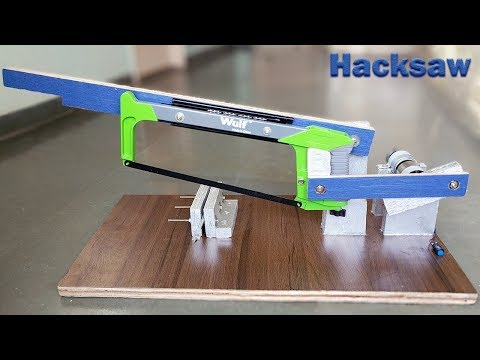 Thumbnail: How to Make a Power Hacksaw Machine at Home