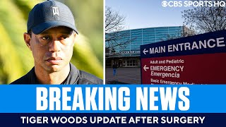 Tiger Woods Update: Golfer 'awake, responsive' after extensive right leg surgery | CBS Sports HQ