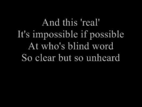 Lyrics to Lazy Eye