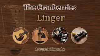 Linger - The Cranberries (Acoustic Karaoke)