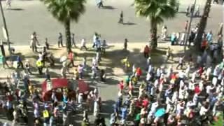 30 August, Manifestations,تظاهر كف رابعه ب شارع الهرم