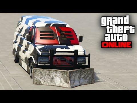 SI FRENAS EXPLOTAS! FURGO BLINDADA! - GTA 5 ONLINE - GTA V ONLINE