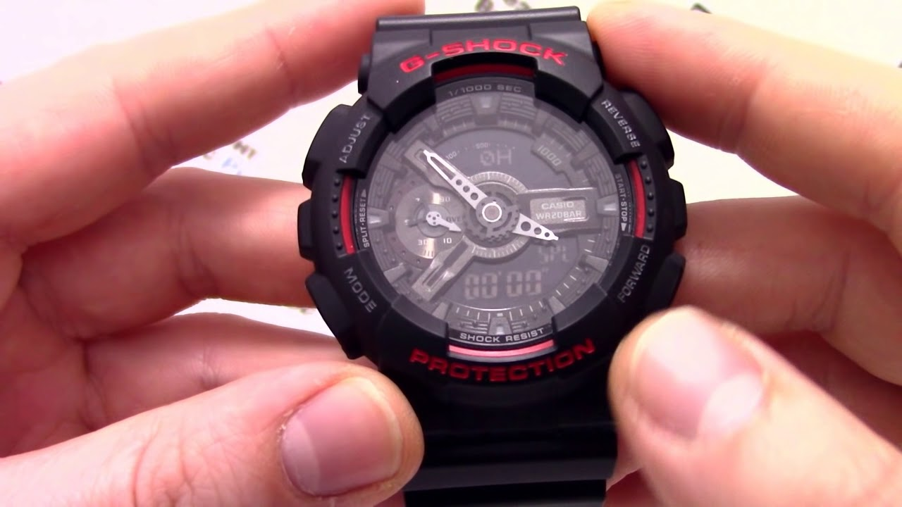 Casio G Shock Ga 110hr 1a Presidentwatchesru 1adr