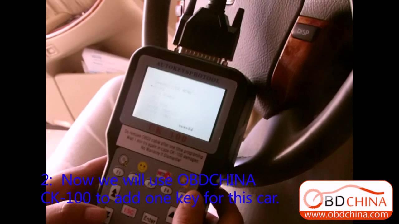 Auto locksmith tool car key programmer ck 100 ck100 v39 02 sbb by obdchina youtube