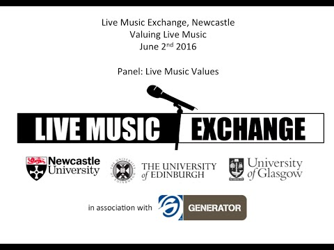 Live Music Exchange, Newcastle - Live Music Values Panel