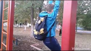 Vlog ● Тренировка.Типо сальто.Лёгкая атлетика.