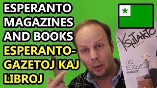 Esperanto Magazines and Books | Esperante-Gazetoj kaj Libroj