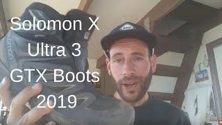 Solomon X Ultra 3 GTX Boots 2019