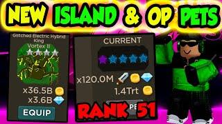 *NEW* GLITCH ISLAND & NEW OP PETS!!! | - Roblox Blade Throwing Simulator