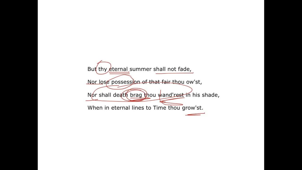 shall i compare thee to a summer s day sonnet xviii by william shall i compare thee to a summer s day sonnet xviii by william shakespeare analysis of poem
