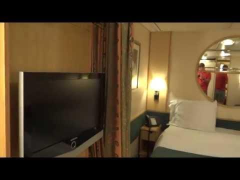 Interior Stateroom Tour on Royal Caribbean Freedom of the Seas Cruise Ship
