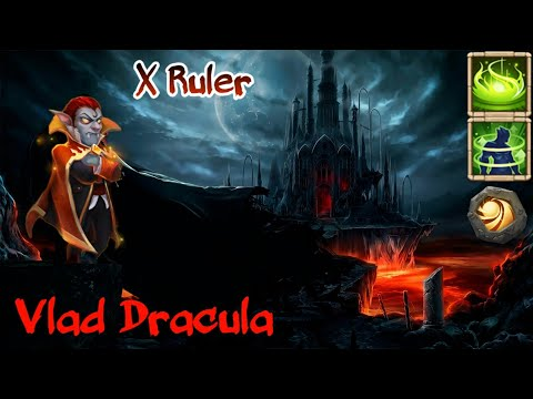 Vlad Dracula | 30 BT | 9 Vigorous Fury | 9 Sacred Light | X Ruler Of Game | Fun Video | Castle Clash