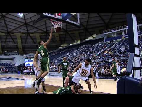 NAU Mens Basketball Highlights 1-3-13 vs. Sacramento State 57-50