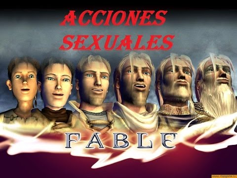 11-Fable The Lost Chapters - Acciones Sexuales