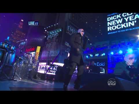 Pitbull - International Love - Rain Over Me - Dick Clark's New Year's Rockin' Eve - HD HIFI