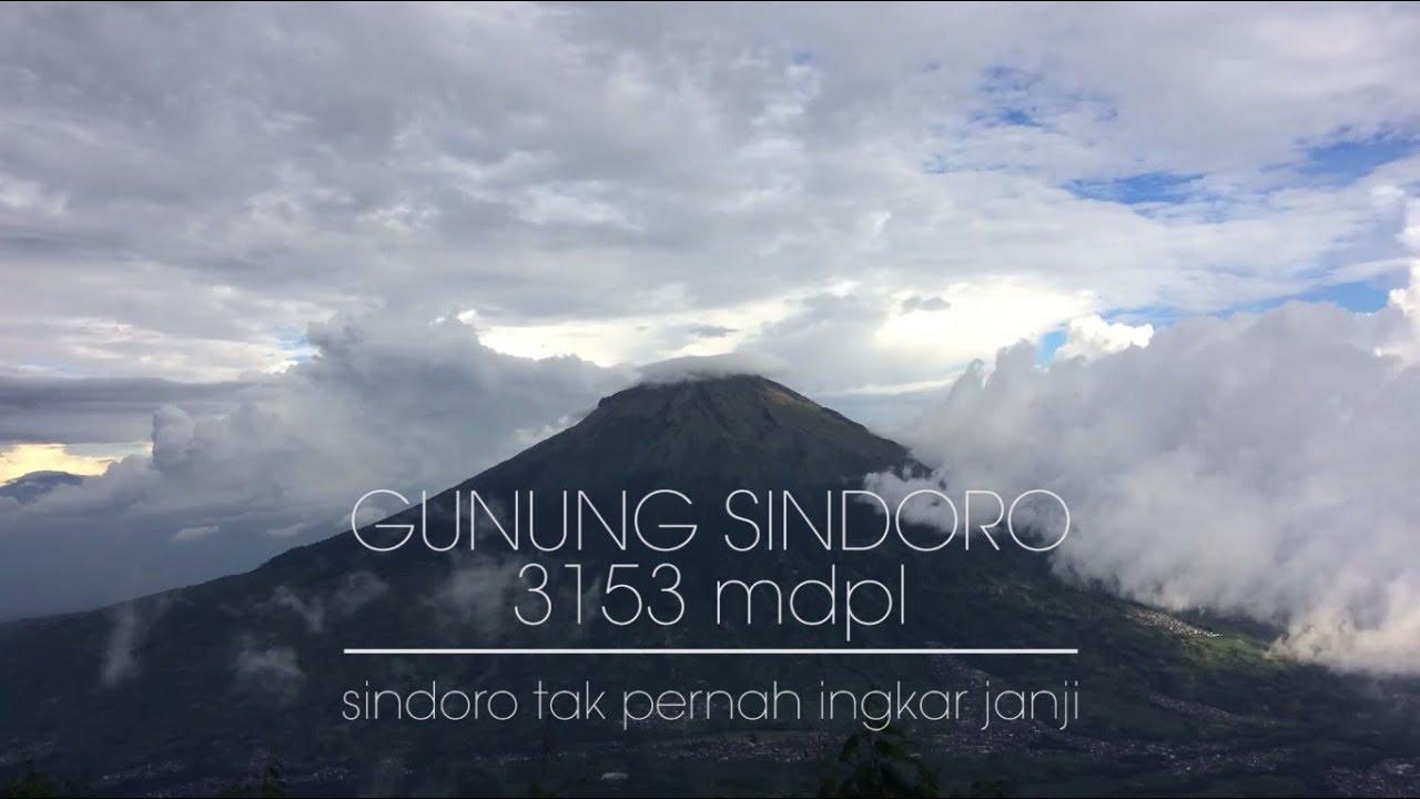 Pendakian Gunung Sindoro 3 153 Mdpl Via Kledung Youtube