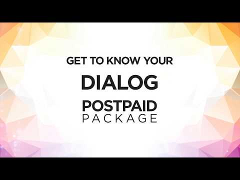 Dialog Postpaid – Ultra 99 per Minute package