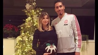 Man United defender Chris Smalling set to become a father as wife Sam Cooke reveals baby bump