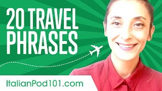 Learn the 20 Travel Phrases You Should Know in Italian