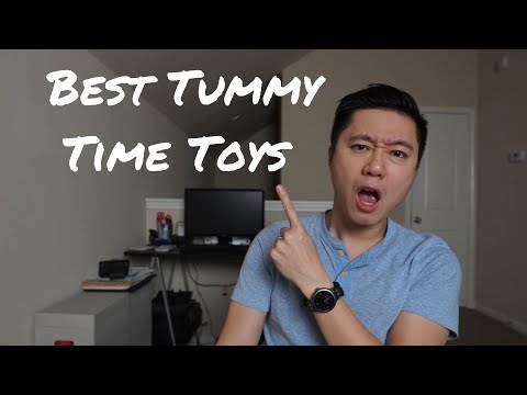 Tummy Time Toys For Babies   5 Favorite Toys