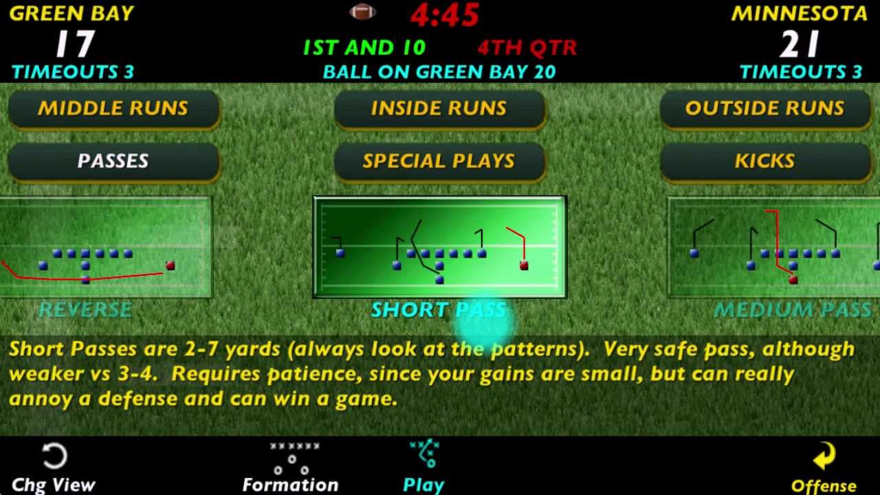 pro strategy football 2013