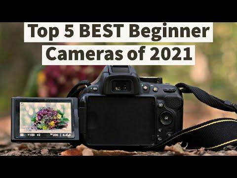 Top 5 BEST Beginner Cameras of 2021   BEST DSLR of 2021   Detailed Review