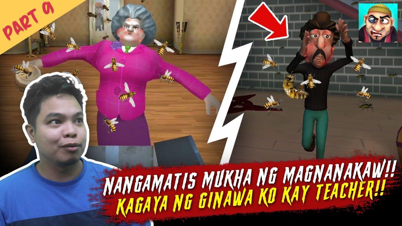 Nangamatis Mukha ng Magnanakaw Parehas Sila ni Teacher - Scary Robbers Part 9