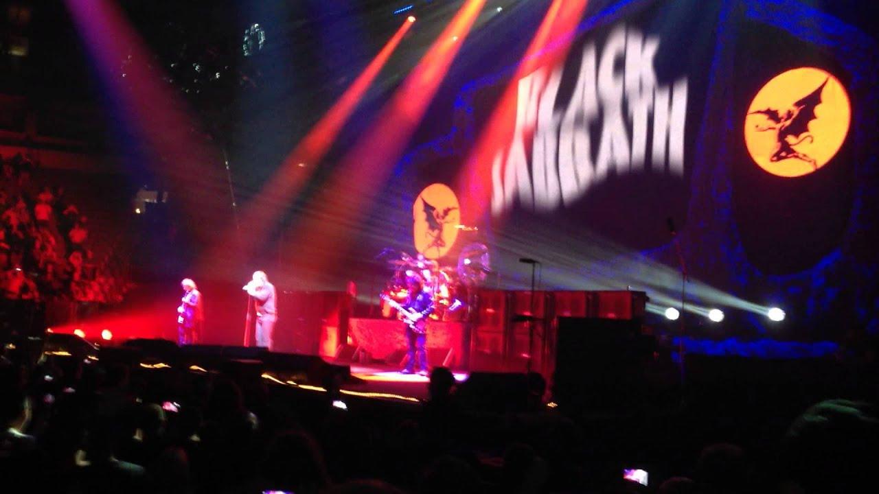 Black Sabbath Black Sabbath Live Concert August 22 2013