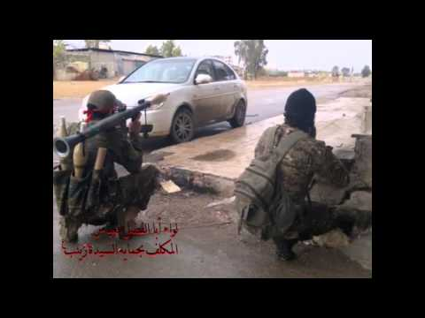 Shia muslims fighting isis in syria