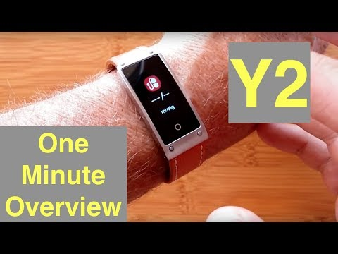 SENBONO Y2 Mens/Ladies COLOR Dress Smartwatch with Blood Pressure: One Minute Review