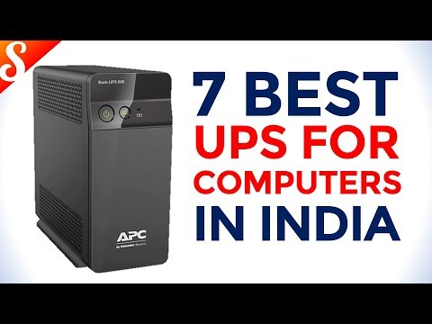 7 Best UPS for PC (Personal Computer) in India with Price