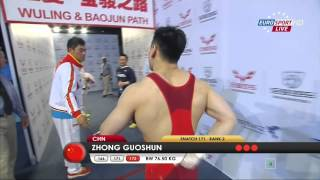 Тяжелая атлетика. Чемпионат Мира. Мужчины до 77 кг. 12.11.2014 год