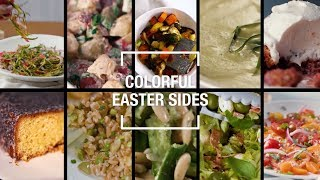 Whether you're planning on hosting brunch, lunch, or dinner we've got you covered with this collection of colorful side dishes, perfect for your easter feast...
