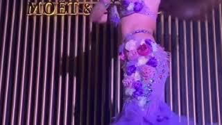 رقص جوهرة علي اغنية خطوة johara dance on khatwa song